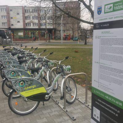 (Polski) Rowery publiczne w 10 miastach województwa łódzkiego